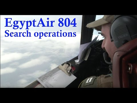 U S  Navy P 3 Orion operations in support of Hellenic armed forces search for EgyptAir flt 804