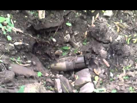 Неразорвавшийся снаряд в луганске фото