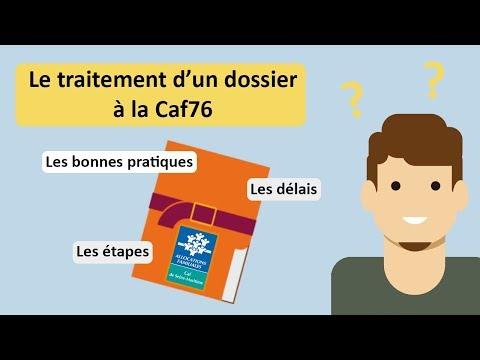 Caf 76 : Le Traitement D'un Dossier