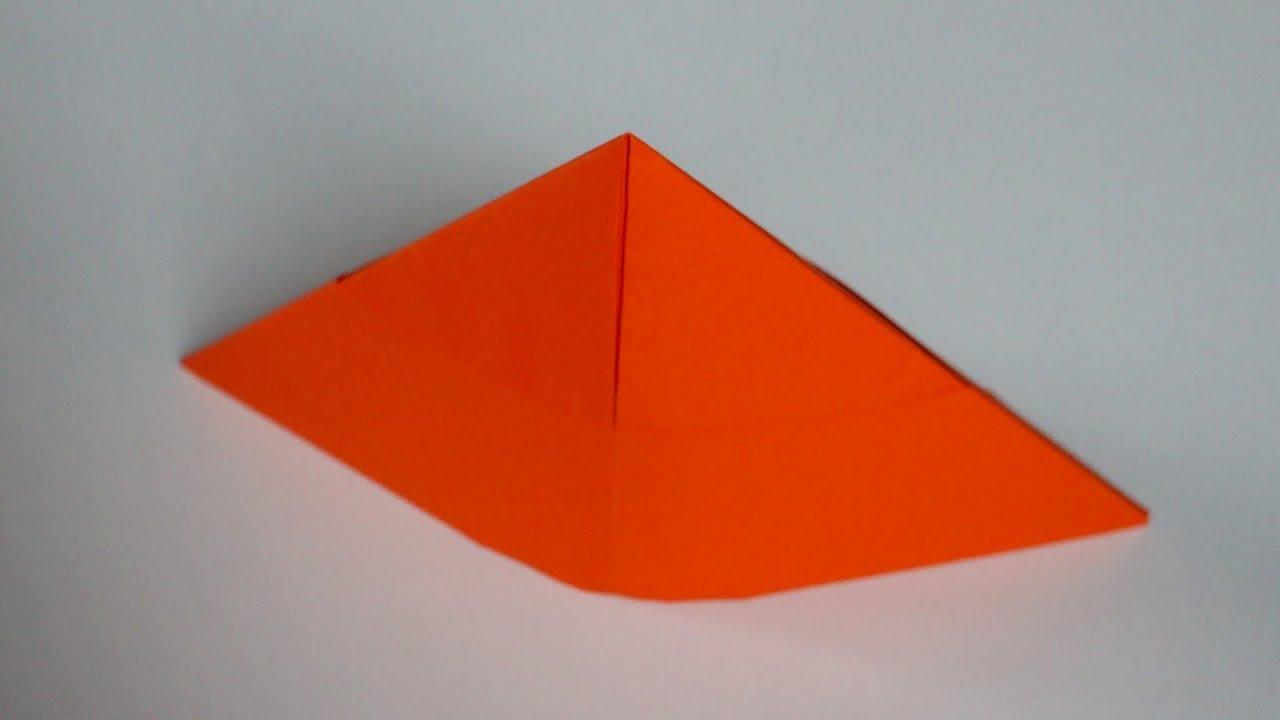 Basteln Mit Papier Hut Origami Hut Falten Mit Kindern W Youtube