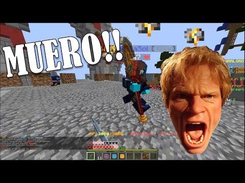 MINECRAFT: MUEROO!   Warlords en Hypixel.net c/ Rester71