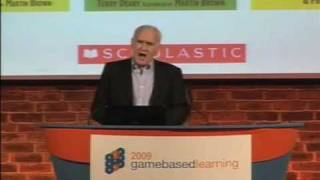Game Based Learning 2009 - Terry Deary, Author, Horrible Histories