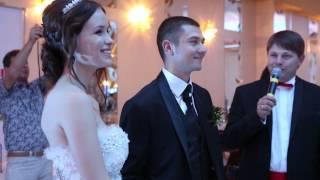 очень троготельный момент на свадьбе!
