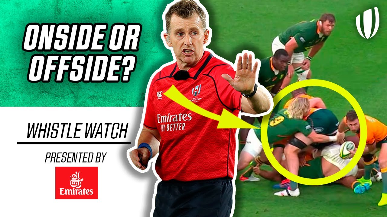 Was Faf De Klerk's Yellow Card the Correct Decision?   Whistle Watch with Nigel Owens - World Rugby