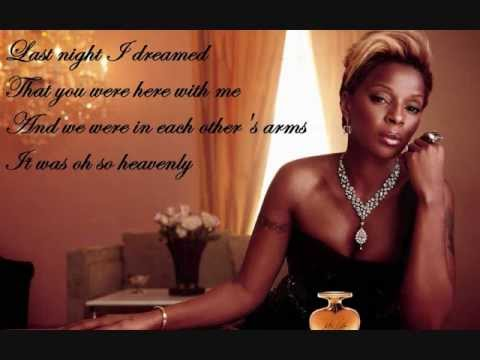 Mary J Blige A dream lyrics