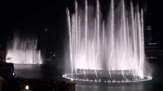 Dubai Mall Dancing Fountain