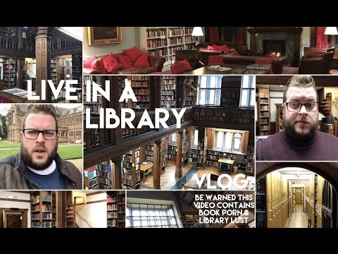 Live In A Library | Gladstones Library | Vlog | 2017