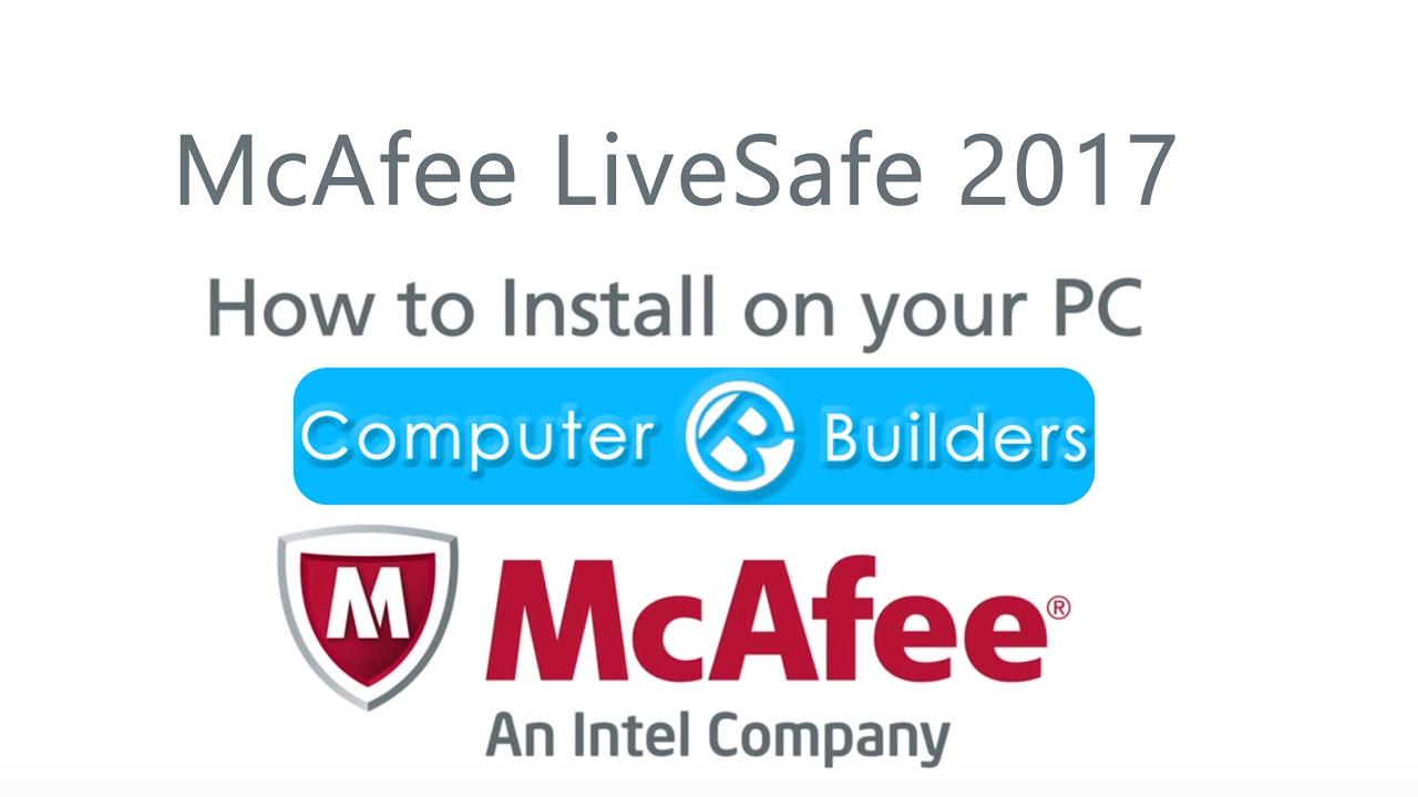Computer Builders | McAfee Livesafe