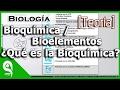 Biología - Bioquímica / Bioelementos ¿Qué es la Bioquímica? 1/4