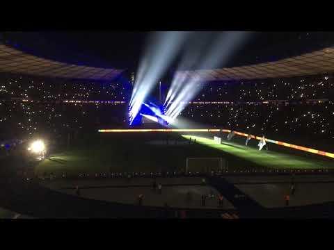 DFB Pokal Hertha Vs Bayern Ostkurve 06.02.19