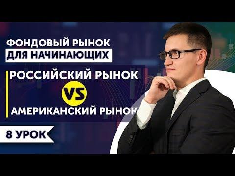 8. Российский рынок vs американский рынок. Почему инвесторы покупают акции США?