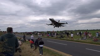 Fighter Jet Almost Hits The Ground Too Early