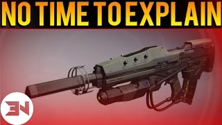 "How To Get The ""No Time To Explain"" Exotic Pulse Rifle - ""No Time To Explain Walkthrough"""