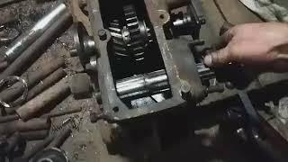 Роздатка газ 69 на саморобний трактор