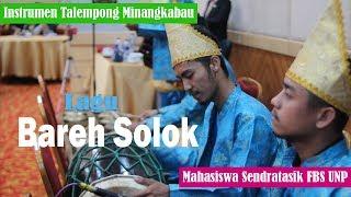 Intrumen Talempong | lagu BAREH SOLOK | Sendratasik UNP