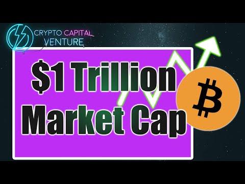 Bitcoin $1 Trillion Market Cap & BTC Price Analysis