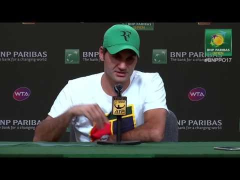 BNP Paribas Open 2017: Roger Federer 3R Press Conference
