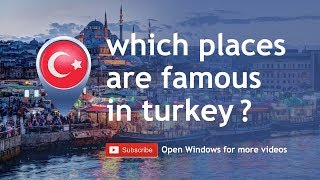 Exploring Turkey [2018] / Which places to go in Turkey?
