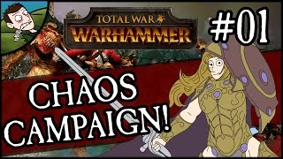 SIGVALD THE MAGNIFICENT! Total War: WARHAMMER Gameplay - Warriors of Chaos Campaign #1