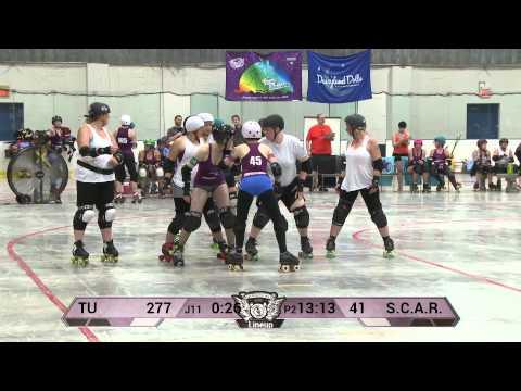 Mad Rollin' Dolls Team Unicorn vs. S.C.A.R. Dolls, St. Cloud Roller Derby -- Second Half