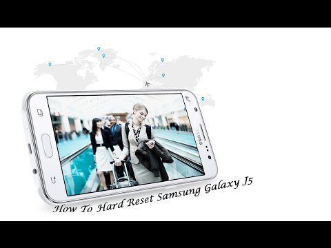 Samsung Galaxy J5 Hard reset | Pattern unlock Solution
