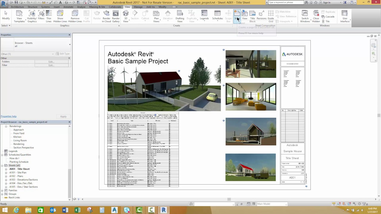 Moving from AutoCAD to Revit, It's All About the Setup