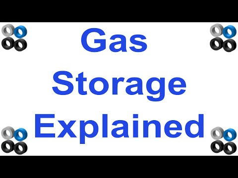 Gas Storage Explained (how and why?)