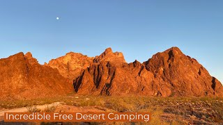 Incredible Free Desert Camping. Fขll Time Vanlife Travel