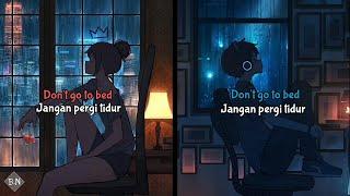 Death Bed - Powfu [Switching Vocals] - (Lirik + Terjemahan Indonesia)
