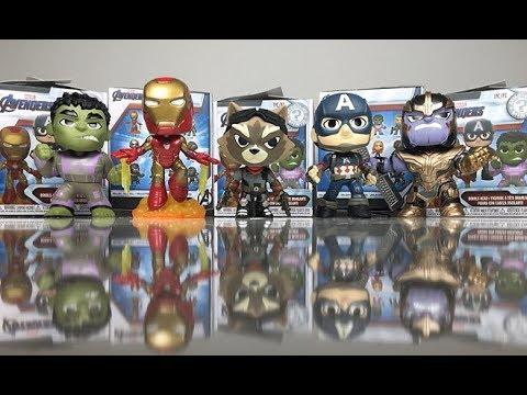 Avengers Endgame Funko Mystery Mini Captain Marvel