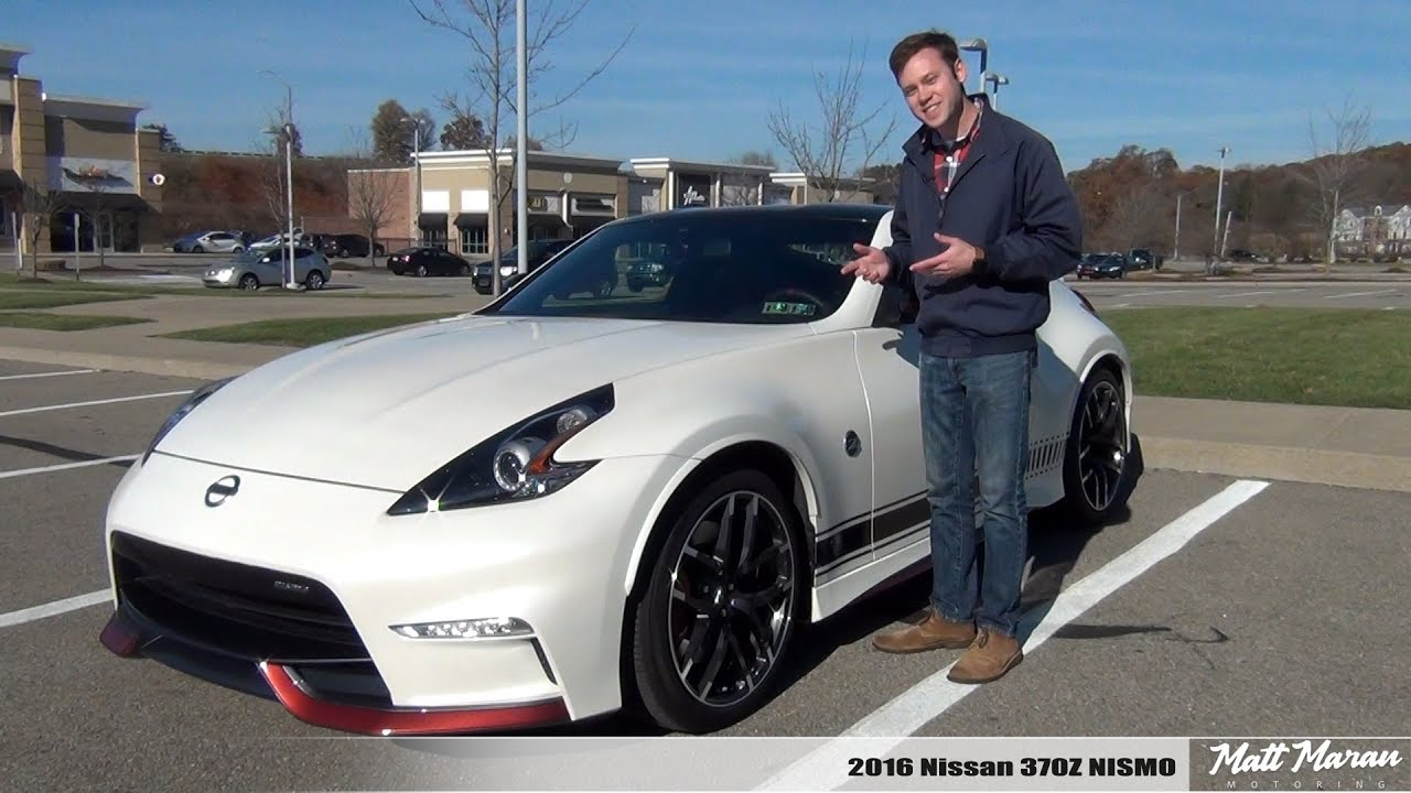 Review 2016 Nissan 370z Nismo Manual
