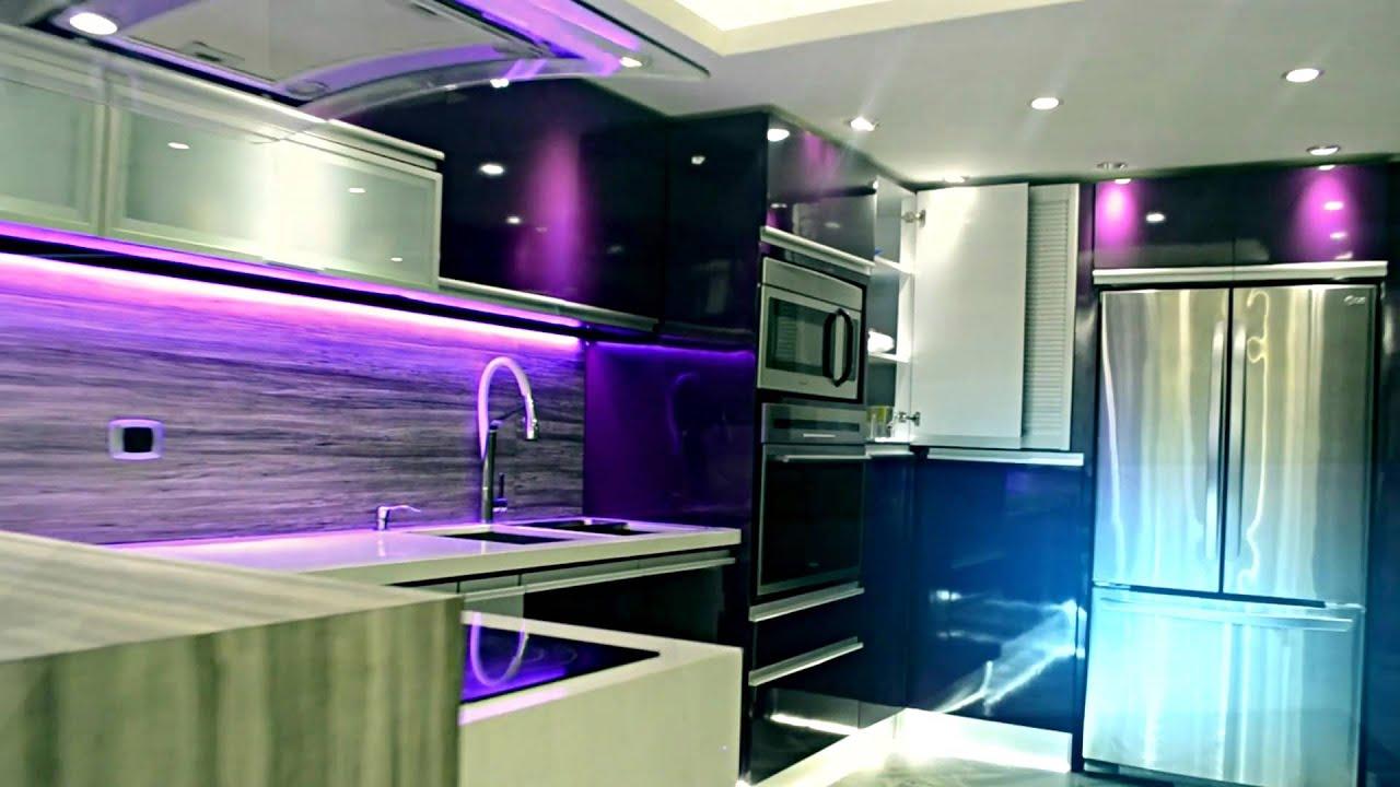 Cocinas empotradas giannfer youtube for Cocinas modernas youtube