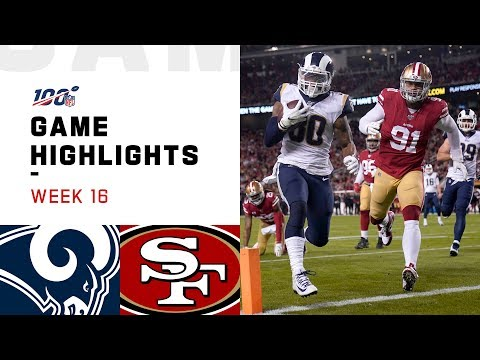 Rams vs. 49ers Week 16 Highlights | NFL 2019