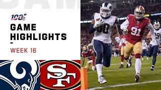 Rams vs. 49ers Week 16 Highlights