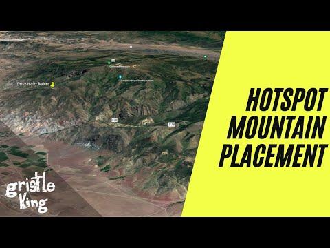 Hotspot Mountain Placement