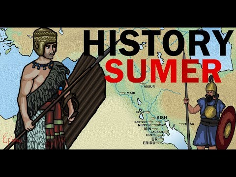 History of Sumer Mesopotamia  ( 3,000 years of Sumerian history )explained in less than 4 minutes