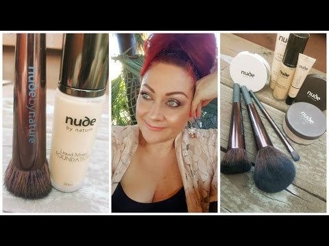 First Impressions | Nude by Nature Liquid Mineral Foundation Review