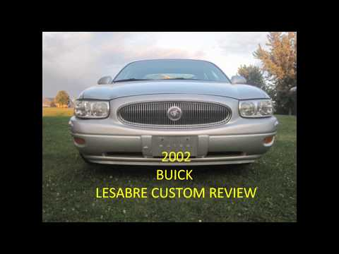 2002 Buick Lesabre Custom review