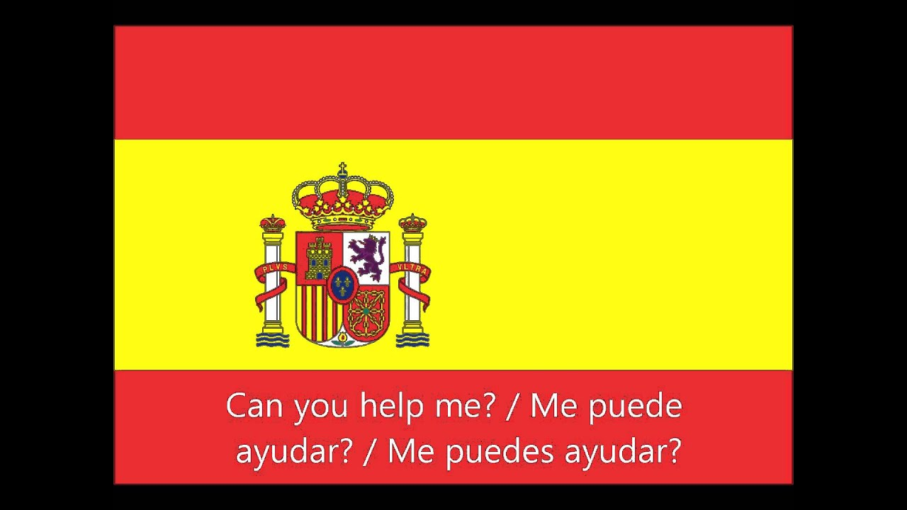 Will you please help me in spanish