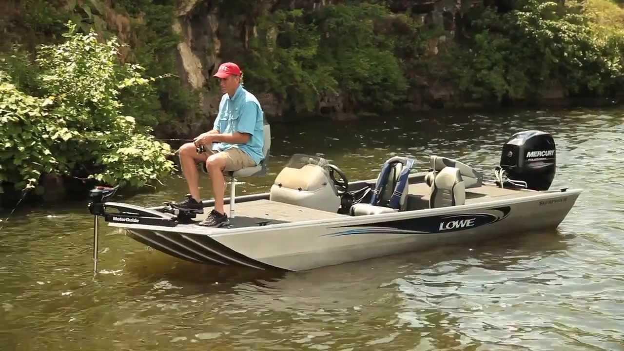 Lowe Skorpion Jon Bass Boat Youtube