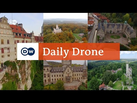 #DailyDrone: Palaces in Germany | DW English