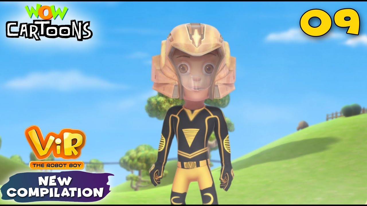 Vir The Robot Boy in Hindi: New Compilation 9 | Animated Series | Wow Cartoons