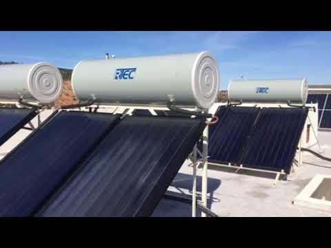Installation chauffe-eau solaire Maroc