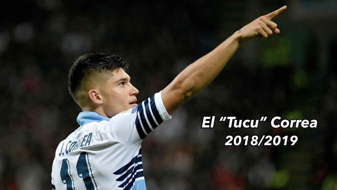 Joaqu U00edn Correa 11 S S Lazio 2018 2019 YouTube