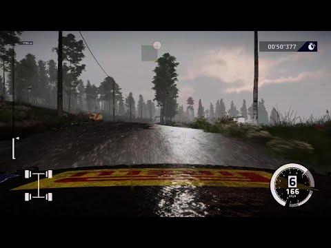 WRC 10 FIA World Rally Championship gameplay  