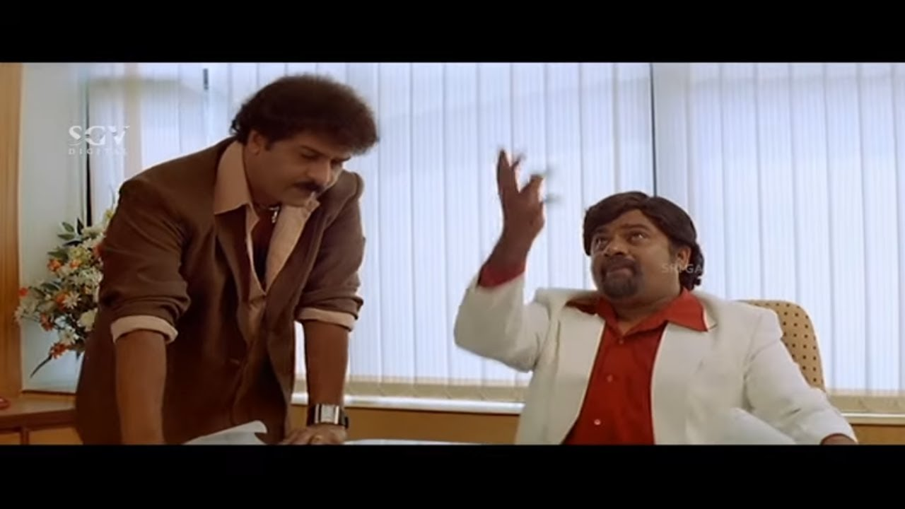 Rangayana Raghu Making Fun of Ravichandran | Comedy Scene | Ugadi Kannada Movie