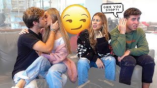 Being PDA In FRONT Of Our FRIENDS To See How They React...