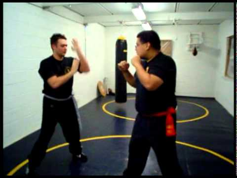Wing Chun pad drills (Detroit)