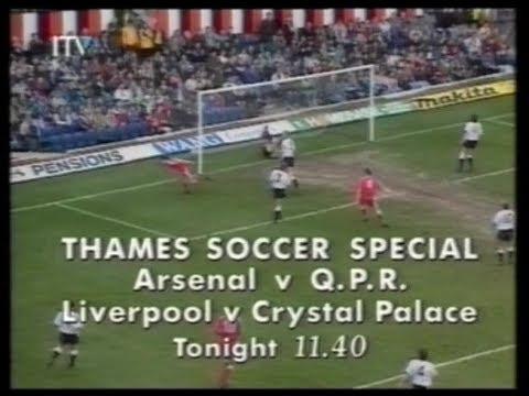 23 April 1991 Thames - Wednesday menu, Soccer Special & ads