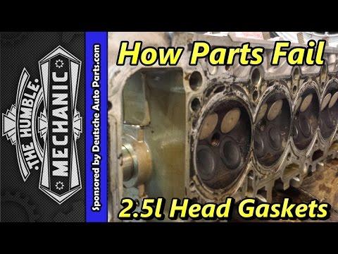 How VW Parts Fail ~ 2.5L Head Gaskets